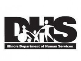 IDHS Logo in Black